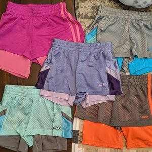 Champion girls athletic shorts